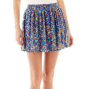 Arizona Floral Print Skirt