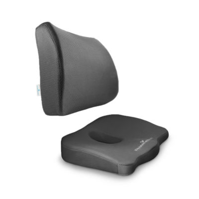 PharMeDoc Coccyx Lumbar Seat Cushion Combo