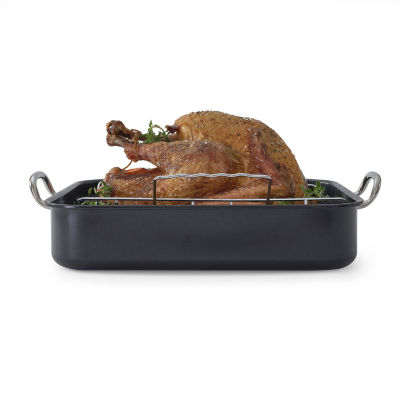 Cooks 2-pc. Nonstick Roaster with Rack - JCPenney