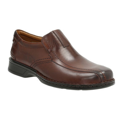 16d110a8c0293 Clarks Escalade Step Mens Leather Loafers JCPenney