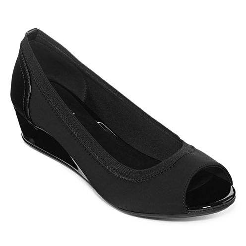 east 5th® Parisa Peep-Toe Wedge Pumps