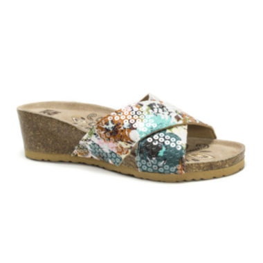 jcpenney.com | Muk Luks® Helene Wedge Sandals