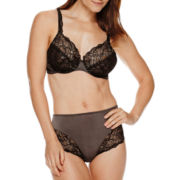 Bali® Lace Desire Unlined or Brief Full Coverage Bra