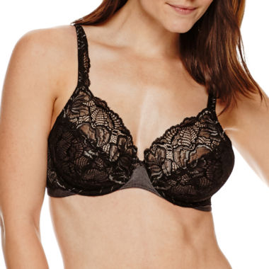 jcpenney.com | Bali® Lace Desire Unlined Full Coverage Bra - 6543