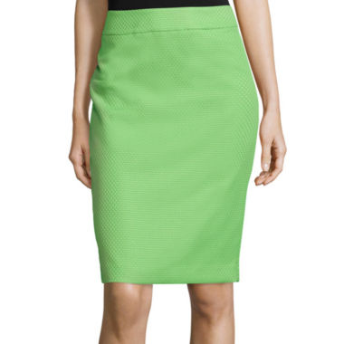 jcpenney.com | Black Label by Evan-Picone Pique Pencil Skirt