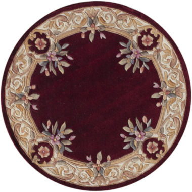 jcpenney.com | Momeni® Open Field Hand-Carved Wool Round Rug