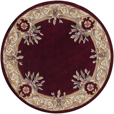 Momeni 174 Open Field Hand Carved Wool Round Rug Jcpenney