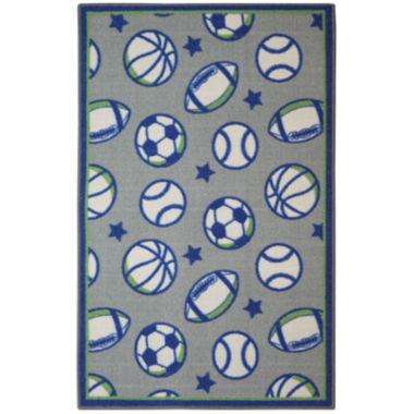 jcpenney.com | Brumlow Rectangular Sports Accent Rug