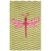 Mohawk Home® Dreamy Dragonfly Rectangular Rug