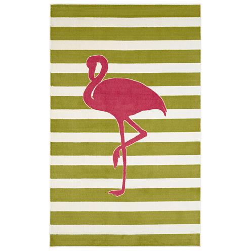 Mohawk Home® Fancy Flamingo Rectangular Rug