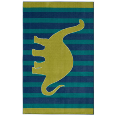 jcpenney.com | Mohawk Home® Friendly Dinosaur Rectangular Rug