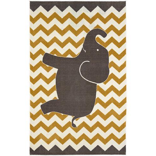 Mohawk Home® Lucky Elephant Rectangular Rug