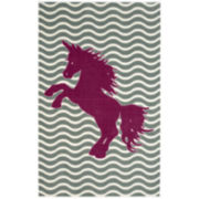 Mohawk Home® Majestic Unicorn Rectangular Rug