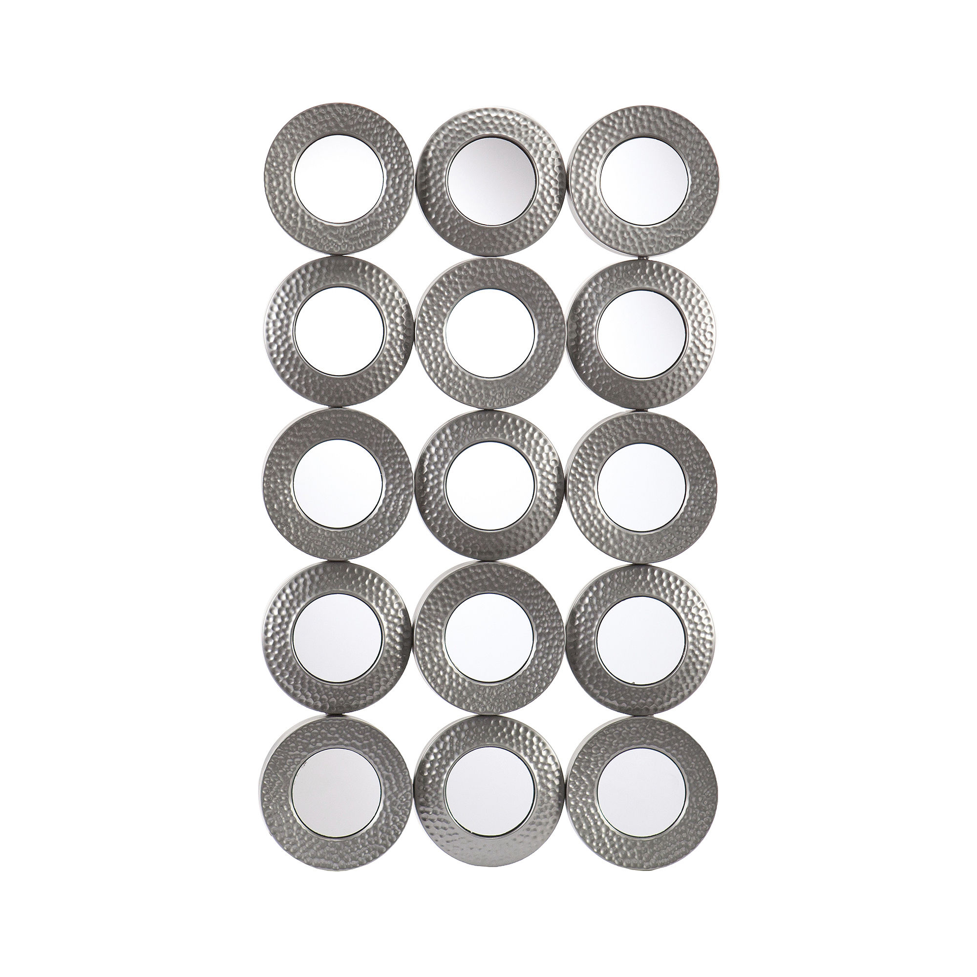 Sphere Sculpture Grid Wall Decor