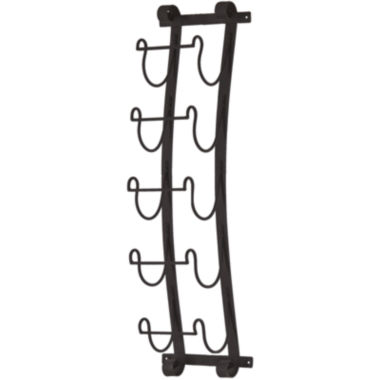 jcpenney.com | Ancona Wall Mount Wine Rack Wall Decor