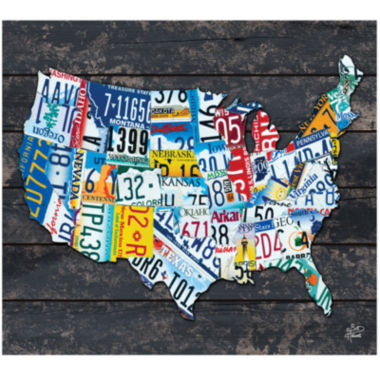 jcpenney.com | United States of America Canvas Wall Art