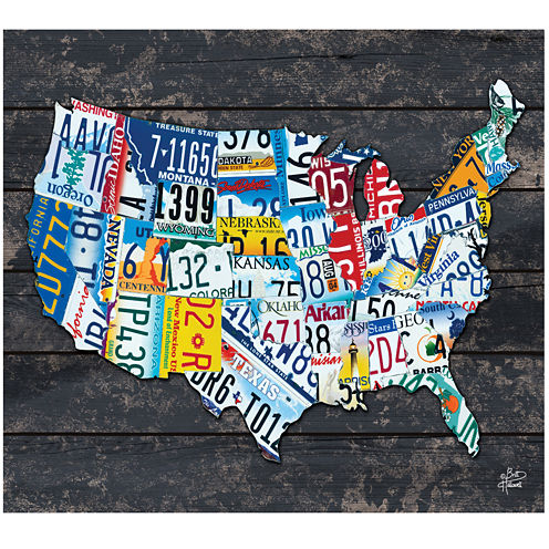 United States of America Canvas Wall Art