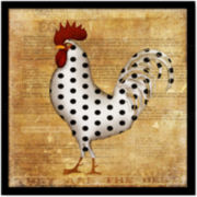 Rooster II Canvas Wall Art