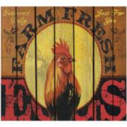 Fresh Farm Eggs Canvas Wall Art
