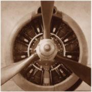 Aviation Steel Propeller Canvas Wall Art