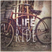The Ride of Life Canvas Wall Art