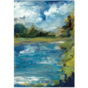 Calm Waters Canvas Wall Art
