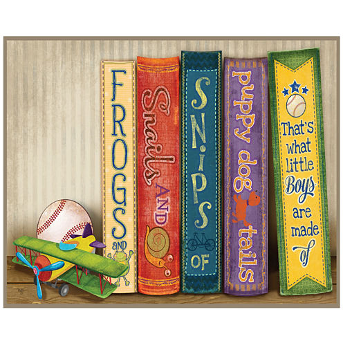 Outdoor Library Canvas Wall Art
