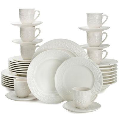 Mikasa® American Countryside 40-pc. Dinnerware Set - Service for 8  sc 1 st  JCPenney & Mikasa American Countryside 40 pc Dinnerware Set