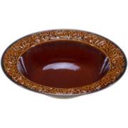 Certified International Solstice Brown Pasta Serving Bowl