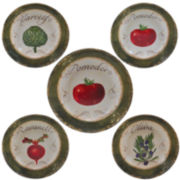 Certified International Pomodoro 5-pc. Pasta Bowl Serving Set
