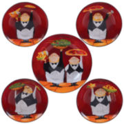 Certified International Waiters 5-pc. Pasta Bowl Serving Set