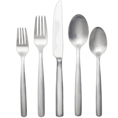 jcpenney.com | Ginkgo® Simple 20-pc. Flatware Set