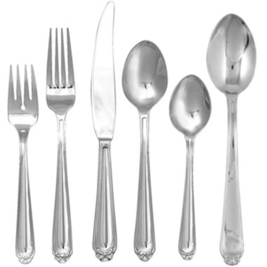 jcpenney.com | Ginkgo® Bonnie 42-pc. Flatware Set