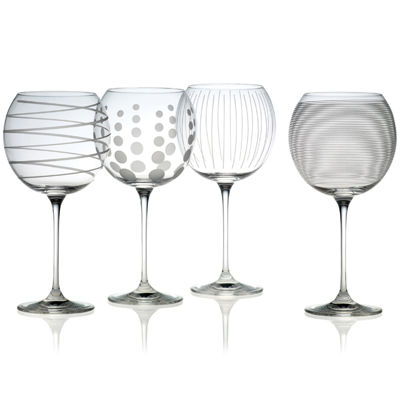 Mikasa® Cheers Set of 4 Balloon Goblets