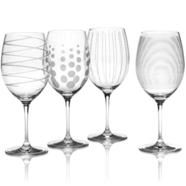 jcpenney.com | Mikasa® Cheers Set of 4 Red Wine Glasses