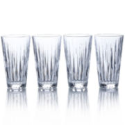 Mikasa® Revel Set of 4 Highball Glasses