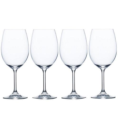 Mikasa® Laura Set of 4 Crystal White Wine Glasses