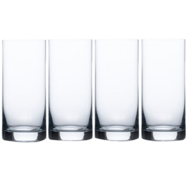 jcpenney.com | Mikasa® Laura Set of 4 Crystal Highball Glasses