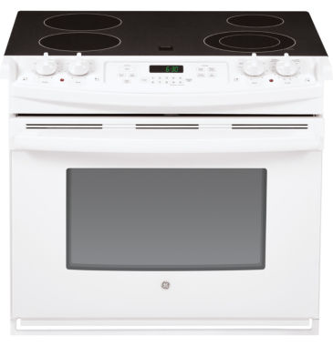 "jcpenney.com | GE® 30"" 4.4 Cu. Ft. Drop-In Electric Range"