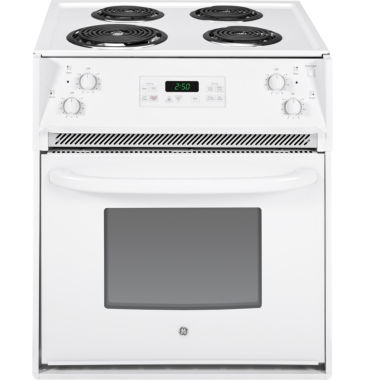 "jcpenney.com | GE® 27"" 3.0 cu ft Drop-In Electric Range"