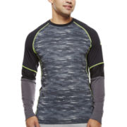 Asics® Camo Show-Off Long-Sleeve Shirt