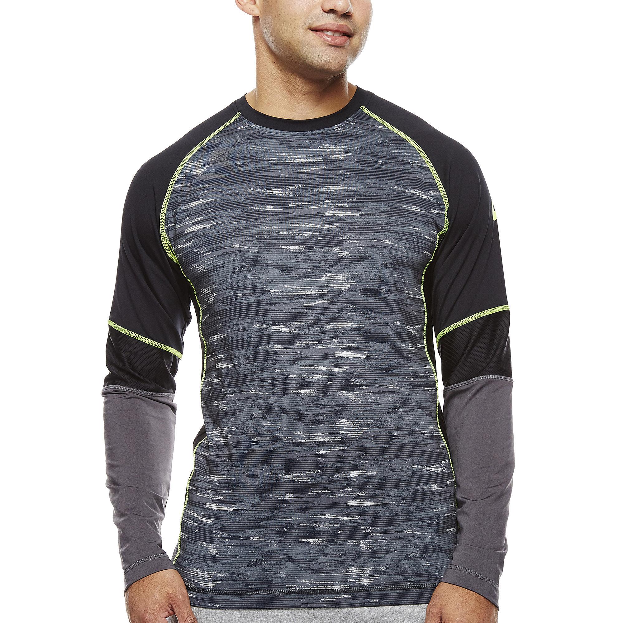 Asics Camo Show-Off Long-Sleeve Shirt