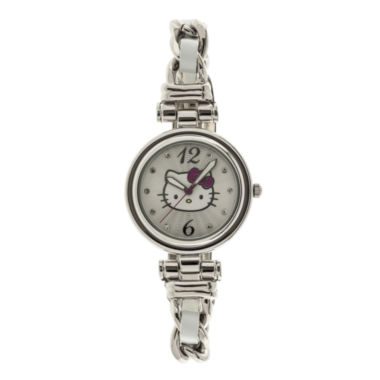 jcpenney.com | Hello Kitty® Womens Crystal-Accent Bracelet Watch
