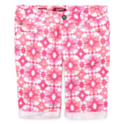 Arizona Bermuda Shorts - Girls 7-16, Slim and Plus