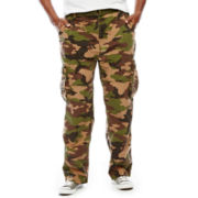 Damante Belted Cargo Pants - Big & Tall