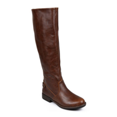jcpenney.com | Journee Collection Lynn Womens Stretch Knee-High Riding Boots