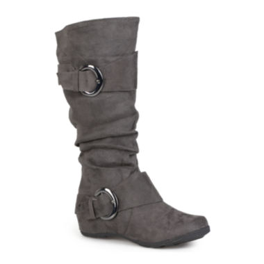 jcpenney.com | Journee Collection Jester Slouch Knee-High Boots - Wide Calf