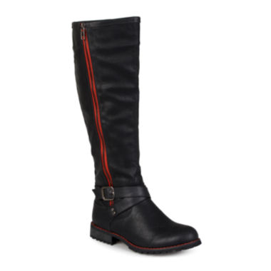 jcpenney.com | Journee Collection Payge Knee-High Wide Calf Womens Riding Boots