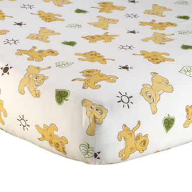 jcpenney.com | Disney The Lion King Go Wild Fitted Crib Sheet