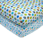 Disney Finding Nemo 2-pk. Fitted Crib Sheet Set